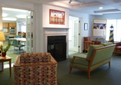 Lobby of Lighthouse Senior Living