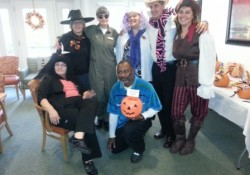LSLEC Management Family doing Halloween as team