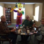 Lighthouse Residents Celebrate Mardi Gras